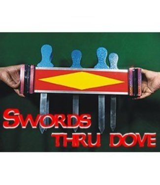 Swords Thru Doves by The Essel Magic
