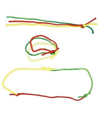 Multicolor Rope Link - Cotton by Funtime Magic (M10)