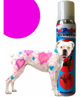 Colored Pet Hair Spray - Pug Purple by Pet Paint