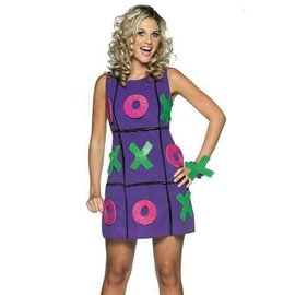 Rasta Imposta Tic Tac Toe Dress - Adult