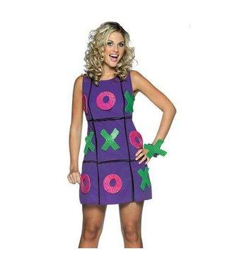 Rasta Imposta Tic Tac Toe Dress - Adult