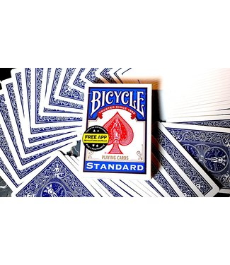 United States Playing Card Company Card - Bicycle, Poker - Blue (M8)