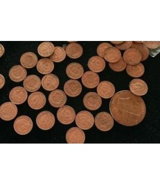"Dozen Mini U.S. Coins - 3/8"" Indian Head Pennies - Coin (M10)"