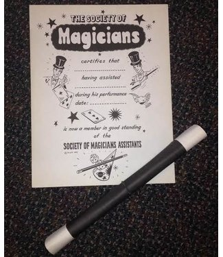 Ronjo Magicians Assistants Certificates - N. Litt M5