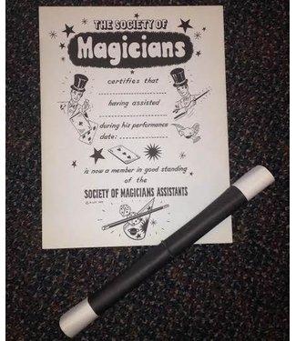 Ronjo Magicians Assistants Certificates - N. Litt (M9)