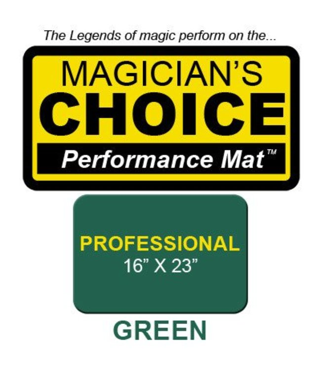 Ronjo Performance Mat Professional Green 16X23 Inch
