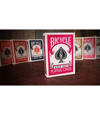 United States Playing Card Compnay Bicycle Fuchsia Back USPCC Cards