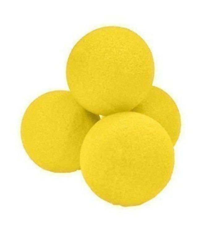 1 inch Sponge Balls, Super Soft - Yellow by Magic By Gosh (M12)