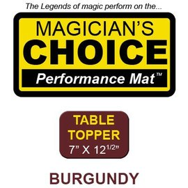 Ronjo Performance Mat Table Topper, Burgundy