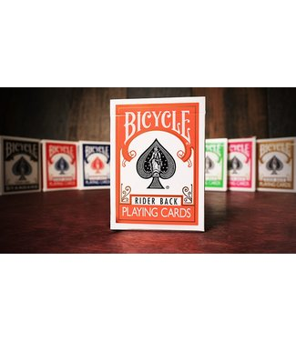 United States Playing Card Company Bicycle Orange Playing Cards by USPCC