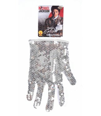 Rubies Costume Company Michael Jackson Silver Sequin Glove (C4)