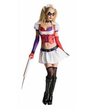 Rubies Costume Company Harley Quinn - Arkham Adult Large