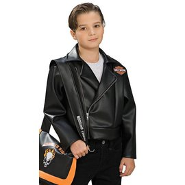 Rubies Costume Company Harley Davidson Jacket - Child Small 4-6