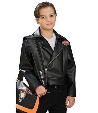 Rubies Costume Company Harley Davidson Jacket - Child Small 4-6