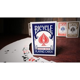 United States Playing Card Company Bicycle Playing Cards Poker, Blue - Classic Box