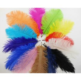 Feather Plume Royal Blue by SA Feathers