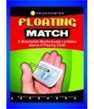 Floating Match on Card - Energized Card by Trickmaster Magic (M12)