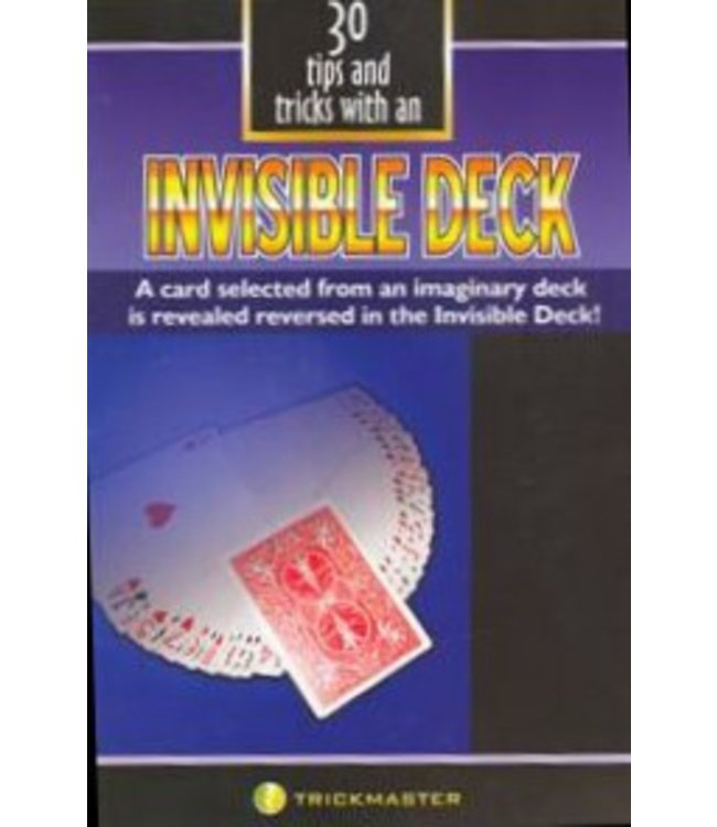 30 Tips and Tricks w/an Invisible Deck by Trickmaster Magic