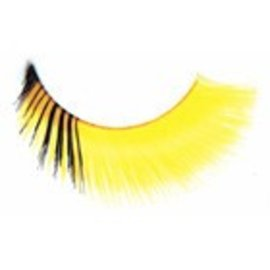 Red Cherry Eyelashes Yellow/Black C412