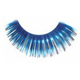 Red Cherry Eyelashes Blue Mylar C206