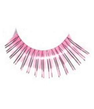 Red Cherry Eyelashes Pink Mylar C208