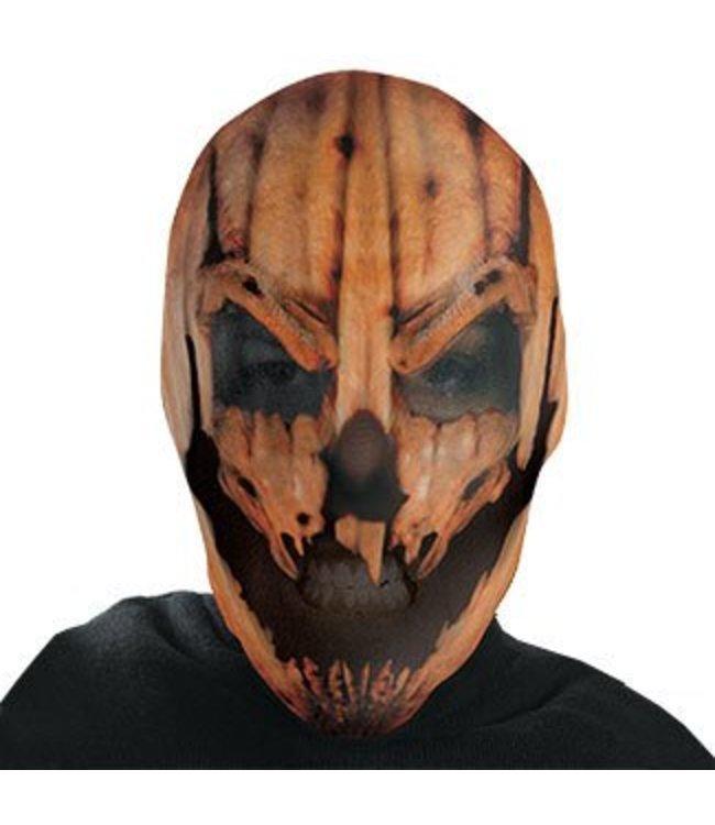Disguise Pumpkin Maniac Full Nylon Mask