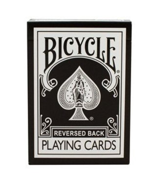 Reversed Back Bicycle Deck Black, 2nd Generation  by Magic Makers