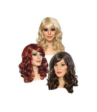 Costume Culture by Franco American Lolita Red - Wig