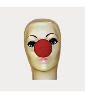 Red Sponge Clown Nose 2 inches by Magic By Gosh