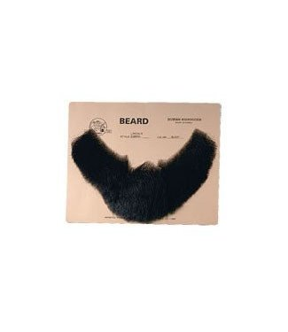 Morris Costumes and Lacey Fashions Beard M-55 Full Face - Black