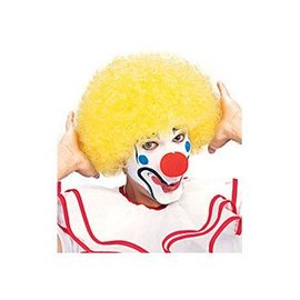 Costume Culture by Franco American Yellow Clown Afro Wig econo
