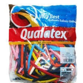 Qualatex 260Q Balloons Traditional Assortment - 100 Count