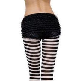 Leg Avenue Ruffle Back Rhumba Panty blk md/lg