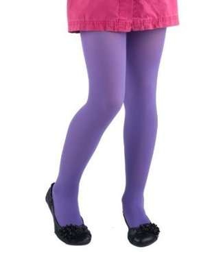 Child's Tights - Size 4-6 Purple