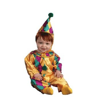 Disguise Cutdie Clown Infant