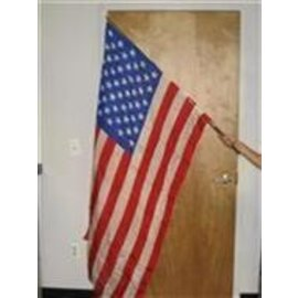 Flag Staff Production With American Flag by Funtime Magic(M11)