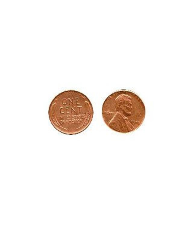 1943 Steel Penny, Copper Plated - Coin (M10)