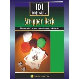 101 Tricks w/a Stripper Deck - Booklet by Trickmaster Magic