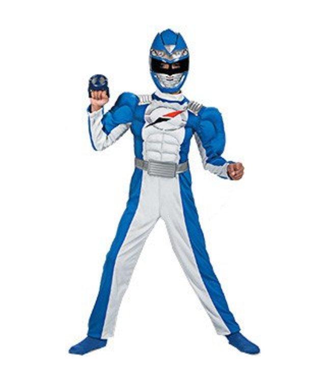 Disguise Power Ranger Blue Overdrive 10-12