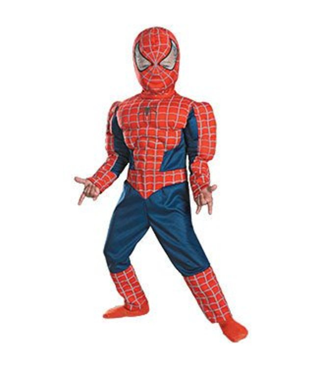 Disguise Spider-Man 3 Muscle - Child 10-12