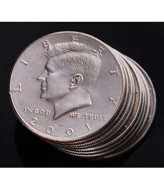 Kennedy Half Dollar U.S. Coin, Real by U.S. Mint (M10)