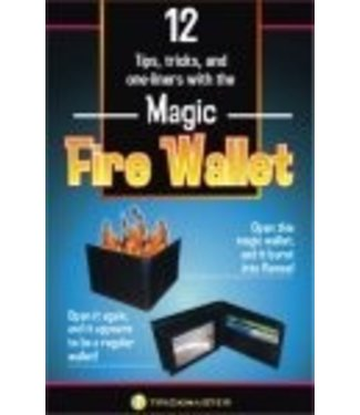 Magic Fire Wallet by Trickmaster Magic (M10)