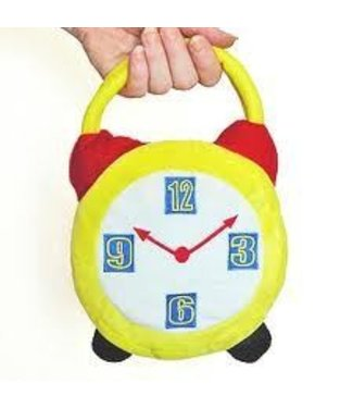 Leg Avenue Crazy Hour Alarm Clock Costume Handbag