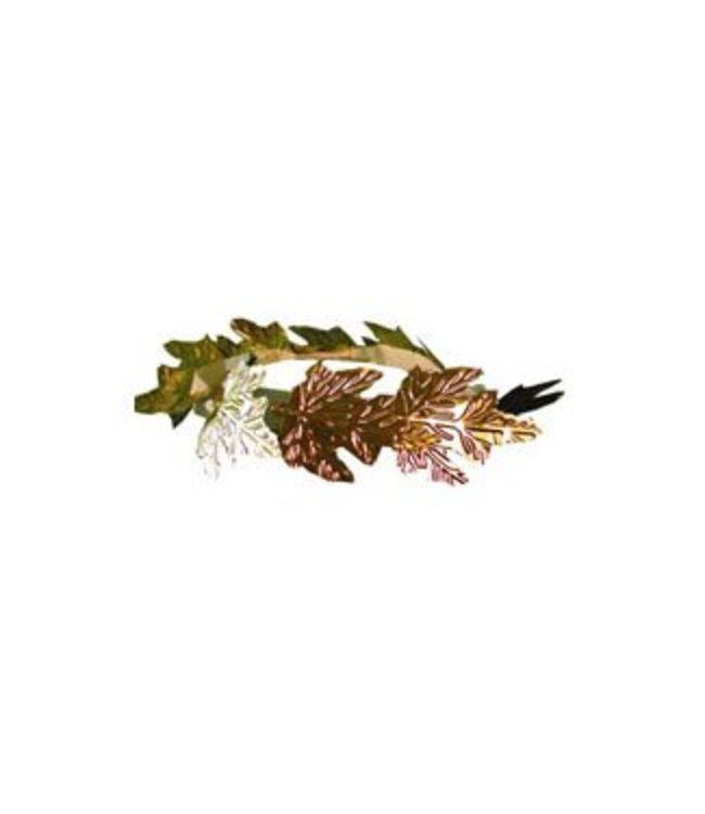 Forum Novelties Roman Leaf Headband - Gold (C15)