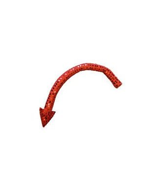Forum Novelties devil tail sequin