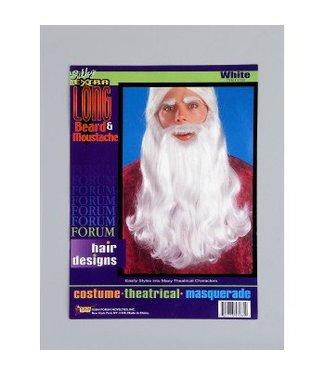 Forum Novelties Beard And Moustache 18 inch White