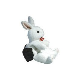 Forum Novelties Two Handed Bunny Puppet - Illusion