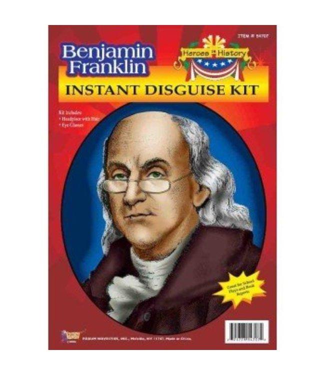 Forum Novelties Heroes In History - Benjamin Franklin Historical Kit