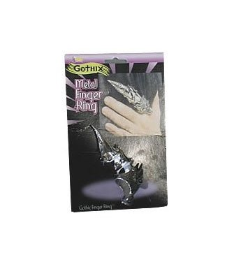Forum Novelties Metal Finger Ring