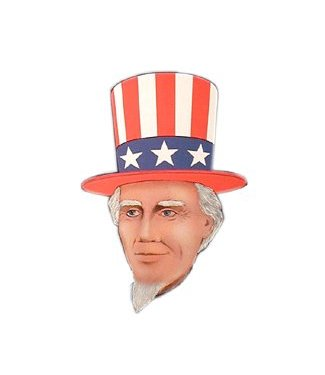 Forum Novelties Uncle Sam - Heroes in History Kit